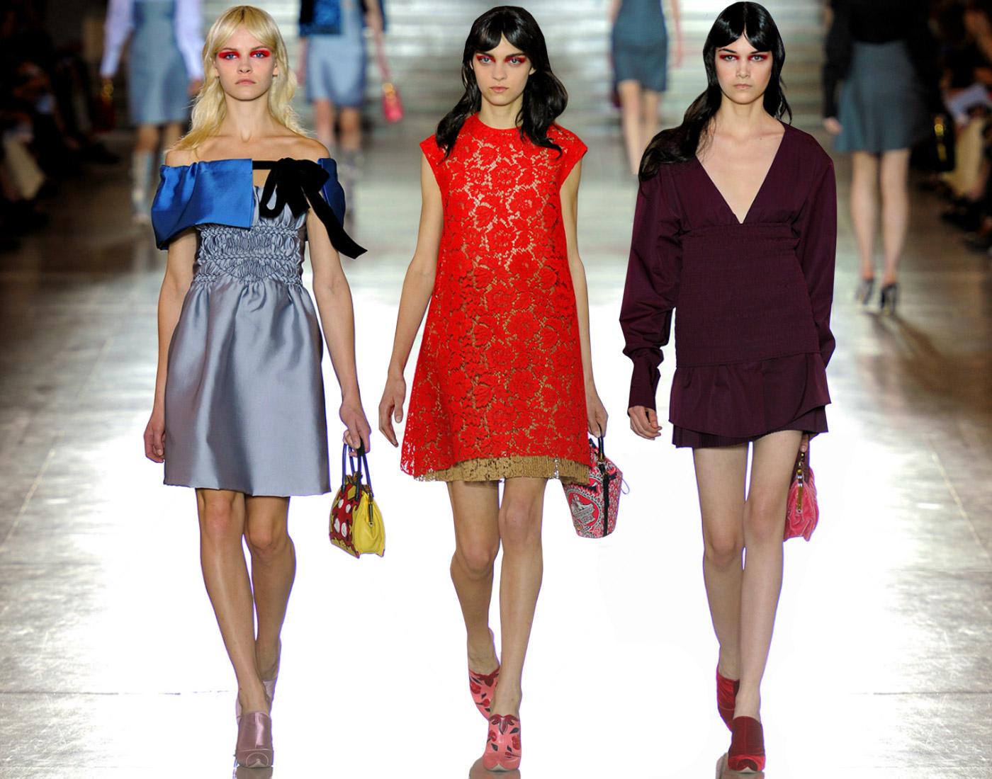 7 cách mặc váy ren trong Xuân-Hè 2012 - 13