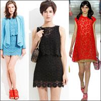 7 cách mặc váy ren trong Xuân-Hè 2012