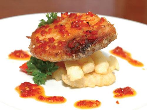 Xốt và nướng thật ngon với món cá - 1