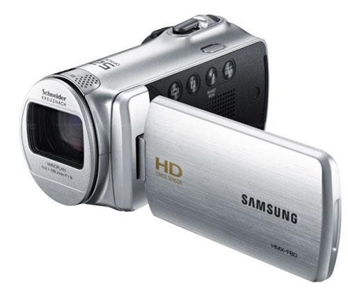 Máy quay Samsung HMX-F80: Đa năng giá mềm - 4