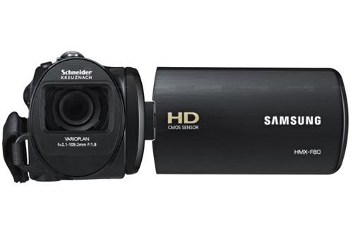 Máy quay Samsung HMX-F80: Đa năng giá mềm - 5