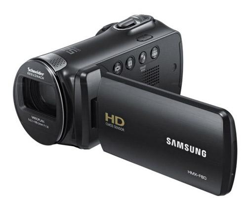 Máy quay Samsung HMX-F80: Đa năng giá mềm - 6
