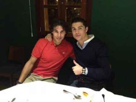 """Ronaldo """"kết thân"""" với Nadal - 1"""