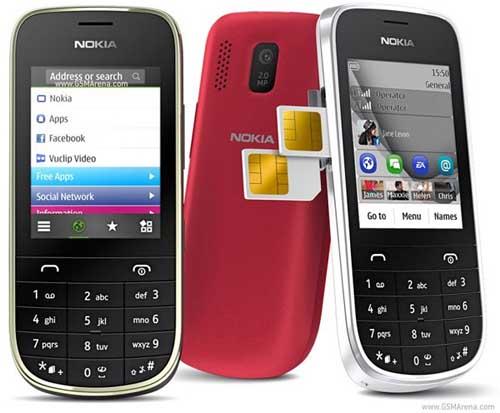Nokia Asha 302, 203 và 202 giá bình dân - 3