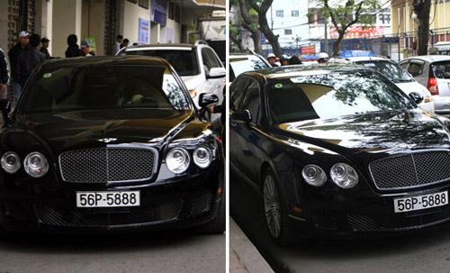 Khám phá xế Bentley giá chục tỉ đồng của bầu Kiên - 1