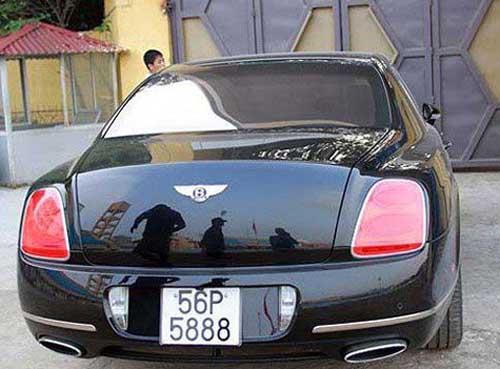 Khám phá xế Bentley giá chục tỉ đồng của bầu Kiên - 2