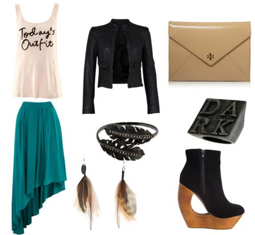 Đổi mới phong cách với váy đuôi tôm - 6