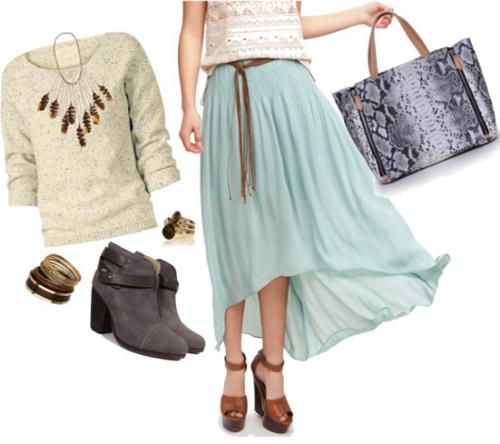Đổi mới phong cách với váy đuôi tôm - 14
