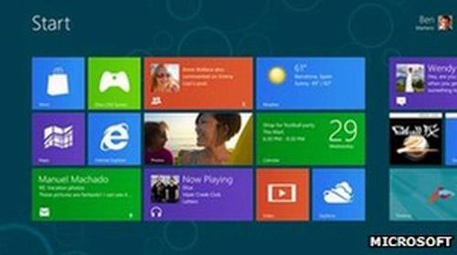 Đã có thể tải miễn phí Windows 8 - 1