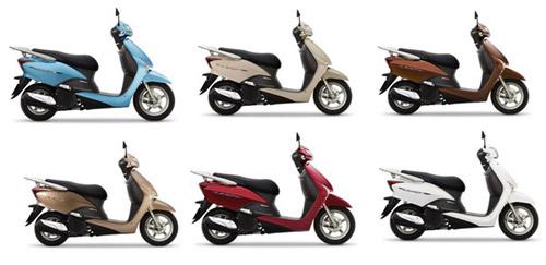 Honda LEAD thêm màu, thêm giá - 1