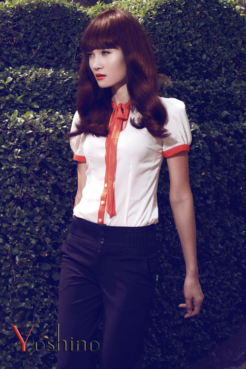 ao so mi nu 2012, áo sơ mi nữ 2012, Xu hướng họa tiết áo sơ mi nữ 2012