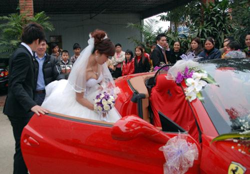 Video: Đoàn xe khủng rước dâu tại Hà Tĩnh - 1