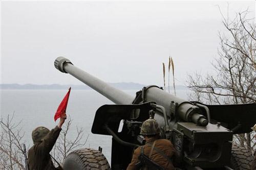 Cận cảnh Triều Tiên tập trận bắn đạn thật - 5