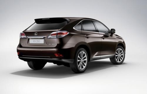Lexus RX 2013: Sang trọng mà tiện dụng - 2