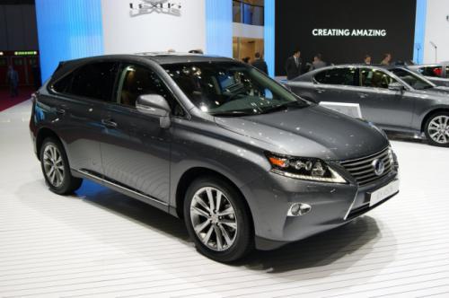 Lexus RX 2013: Sang trọng mà tiện dụng - 1
