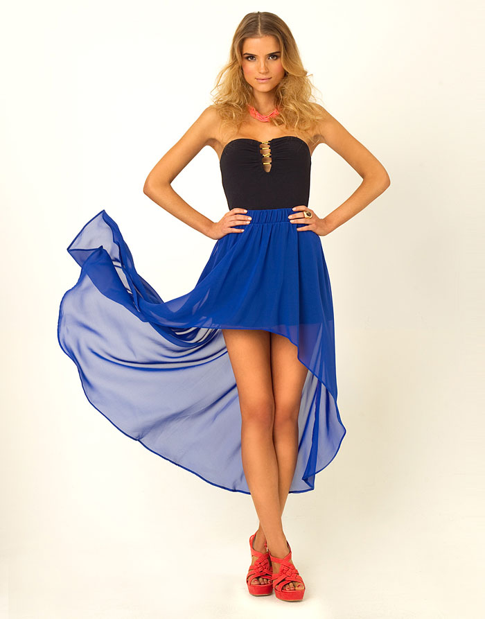 Mặc đẹp với váy có đuôi - 1
