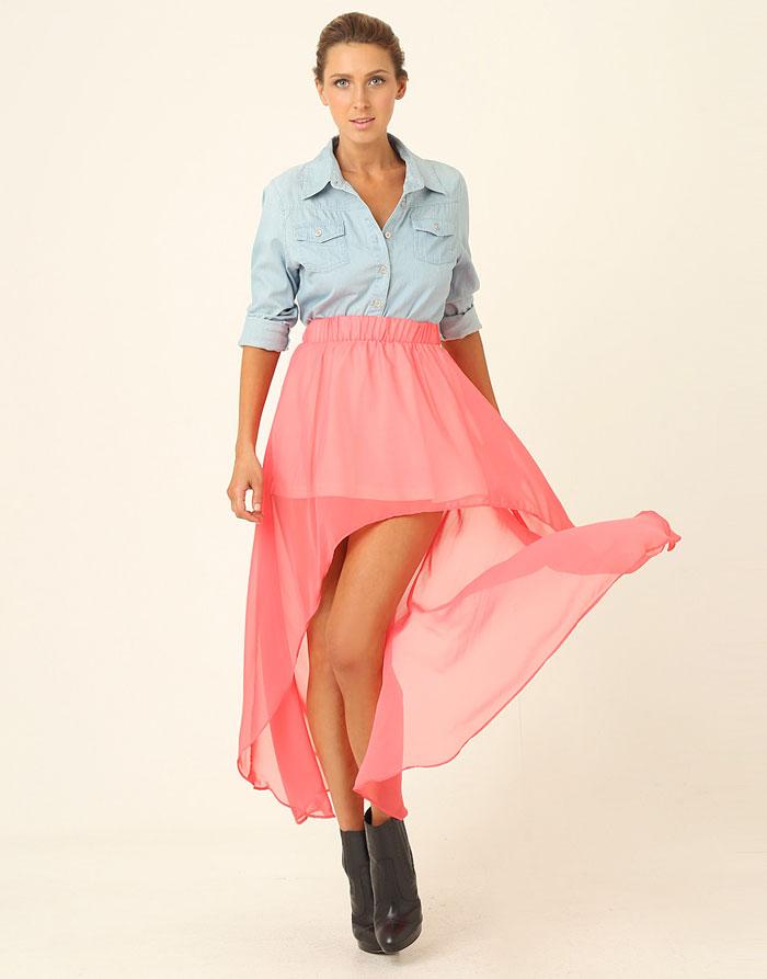 Mặc đẹp với váy có đuôi - 4