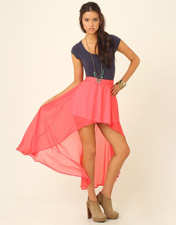 Mặc đẹp với váy có đuôi - 9