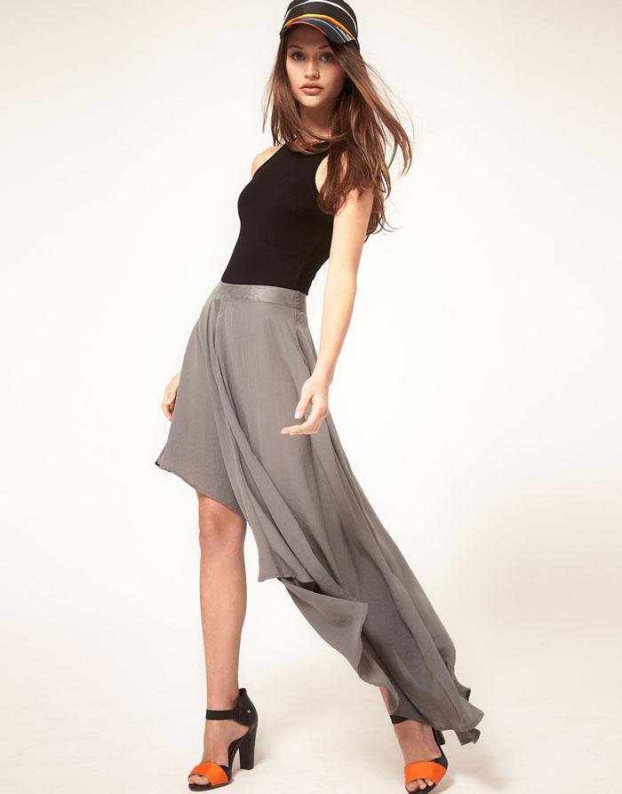 Mặc đẹp với váy có đuôi - 17