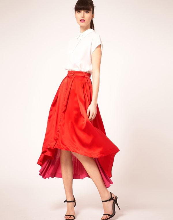 Mặc đẹp với váy có đuôi - 13