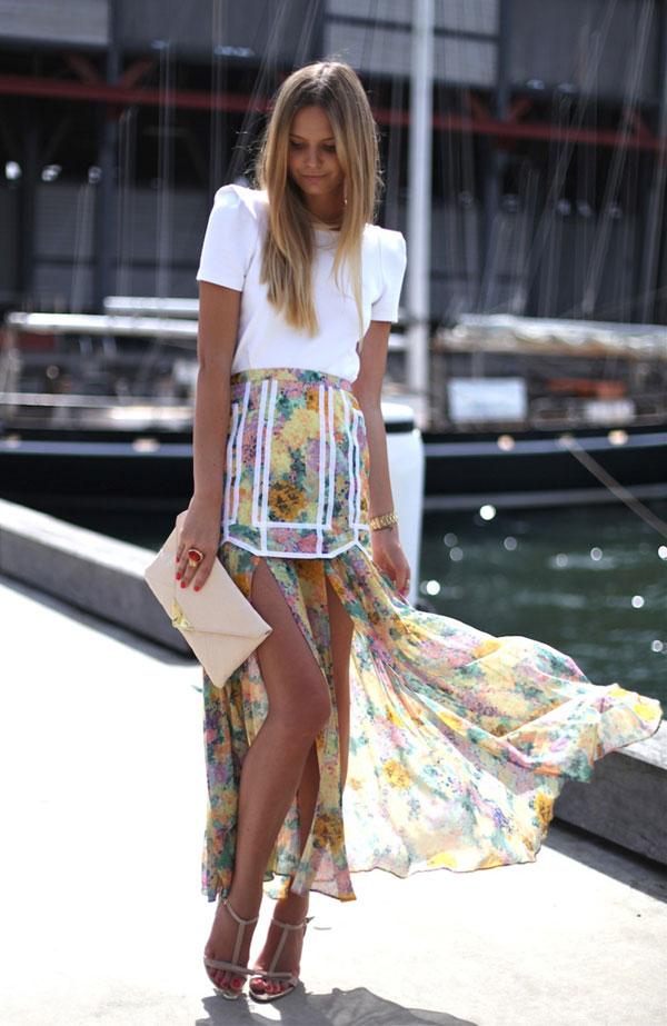 Mặc đẹp với váy có đuôi - 5