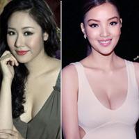 """7 khuôn ngực """"thật thà"""" của showbiz Việt"""