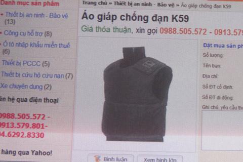 Sắm áo giáp hàng nghìn USD để... dạo phố - 1