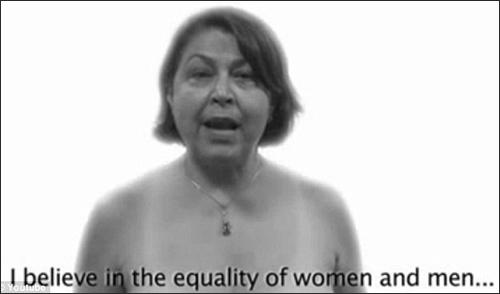 Phụ nữ khỏa thân gây tranh cãi - 2