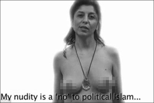 Phụ nữ khỏa thân gây tranh cãi - 3