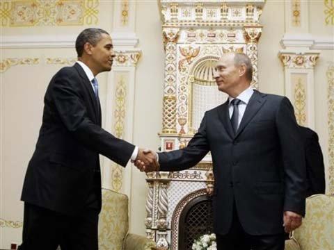 Tổng thống Mỹ đã chúc mừng ông Putin - 1