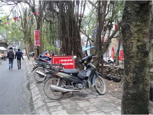 """Nơi biển cấm bị """"coi thường"""" ở Hà Nội! - 6"""