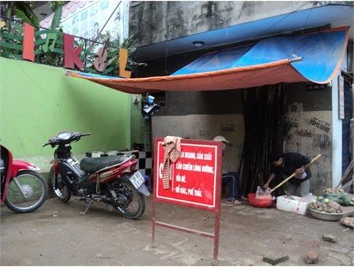 """Nơi biển cấm bị """"coi thường"""" ở Hà Nội! - 7"""