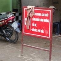 """Nơi biển cấm bị """"coi thường"""" ở Hà Nội!"""