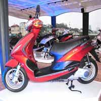 Xe tay ga mới đổ bộ thị trường Việt