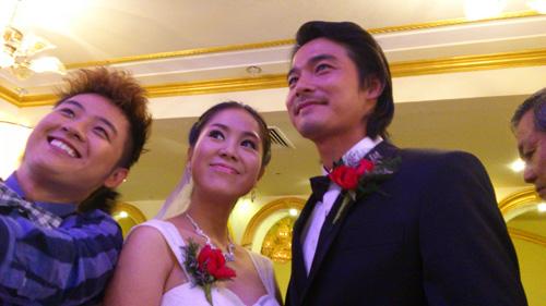 Cận cảnh đám cưới Quách Ngọc Ngoan - 1