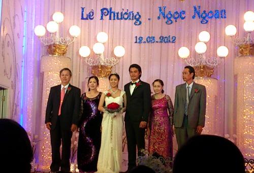 Cận cảnh đám cưới Quách Ngọc Ngoan - 6