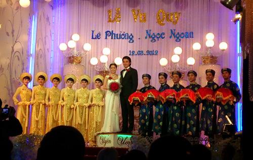 Cận cảnh đám cưới Quách Ngọc Ngoan - 7