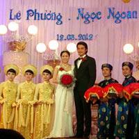 Cận cảnh đám cưới Quách Ngọc Ngoan