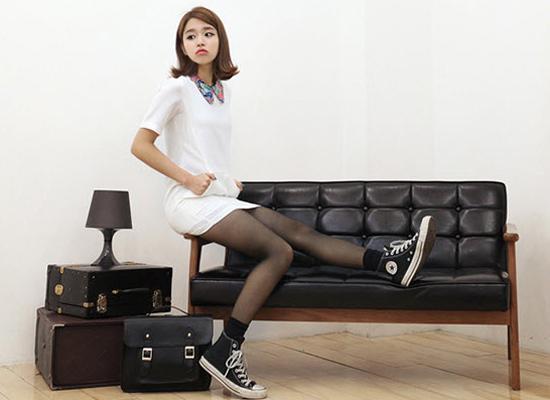 Mặc váy suông theo phong cách Hàn - 9