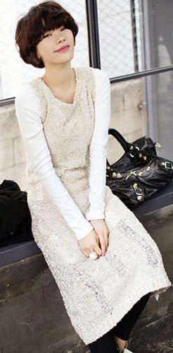 Mặc váy suông theo phong cách Hàn - 1