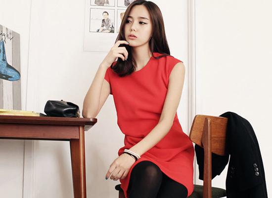 Mặc váy suông theo phong cách Hàn - 19