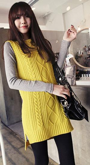 Mặc váy suông theo phong cách Hàn - 7