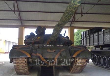 Cận cảnh xe tăng chủ lực của Việt Nam - 1