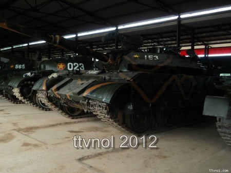 Cận cảnh xe tăng chủ lực của Việt Nam - 3