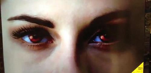 Bella gây sốt với cặp mắt ma cà rồng - 3
