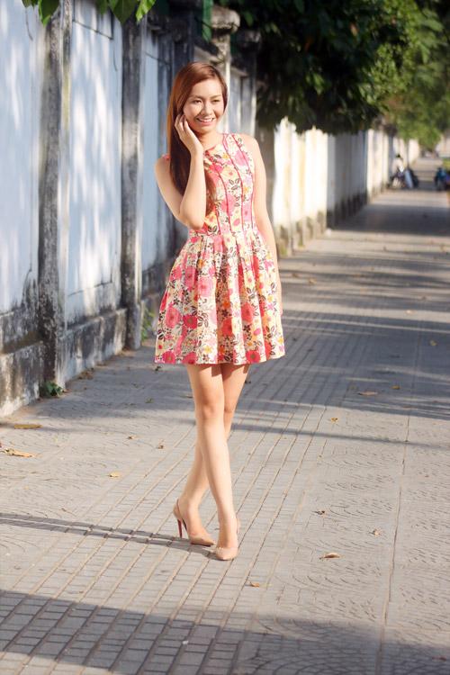 Cách đi giày màu nude đẹp & sexy - 5