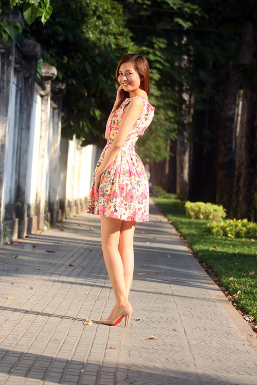 Cách đi giày màu nude đẹp & sexy - 6