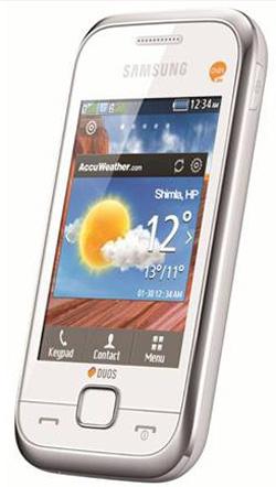 Hấp dẫn điện thoại 2 SIM cảm ứng mới của Samsung - 1