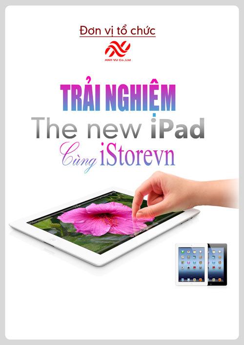 Trải nghiệm The new ipad cùng iStorevn - 1