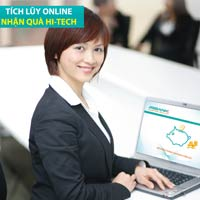 Tích lũy Online - nhận quà Hitech
